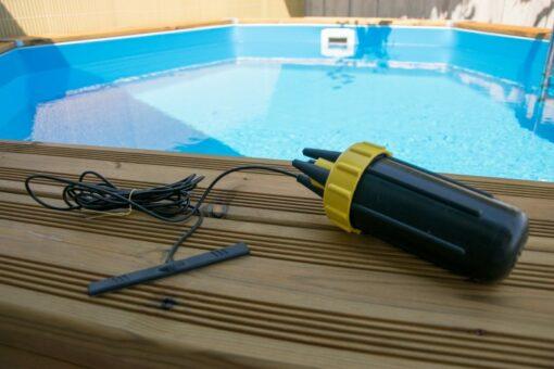 WLAN/WIFI Pool Thermometer Netatmo Modifikation mit Klebeantenne
