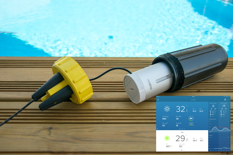 Wlan-Poolthermometer NetatmoModifikation