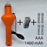 Standard (AAA Batterien: Max. 1460 mAh)