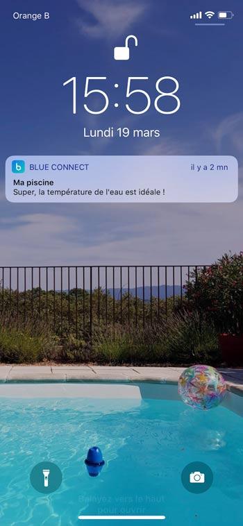 Smartphone de notificaciones push