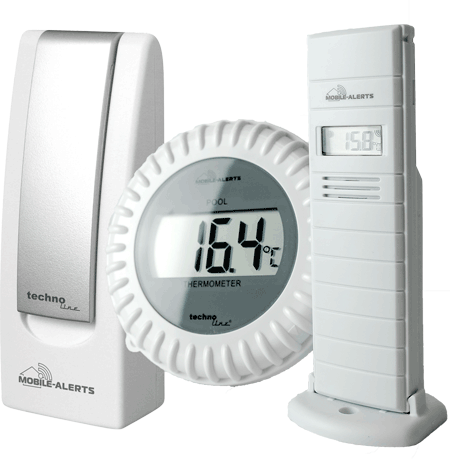 Smartes Poolthermometer Set