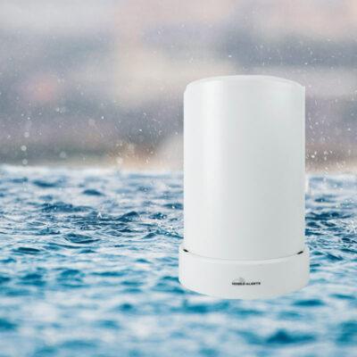 Mobiele waarschuwingen voor slimme regensensor