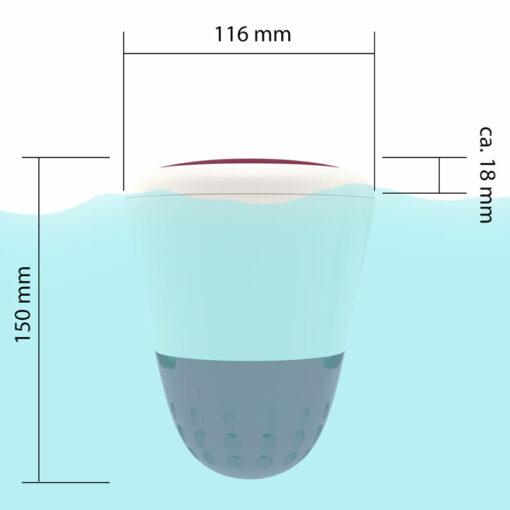 WLAN Thermometer en Water Analyse ICO Spa - Afmetingen