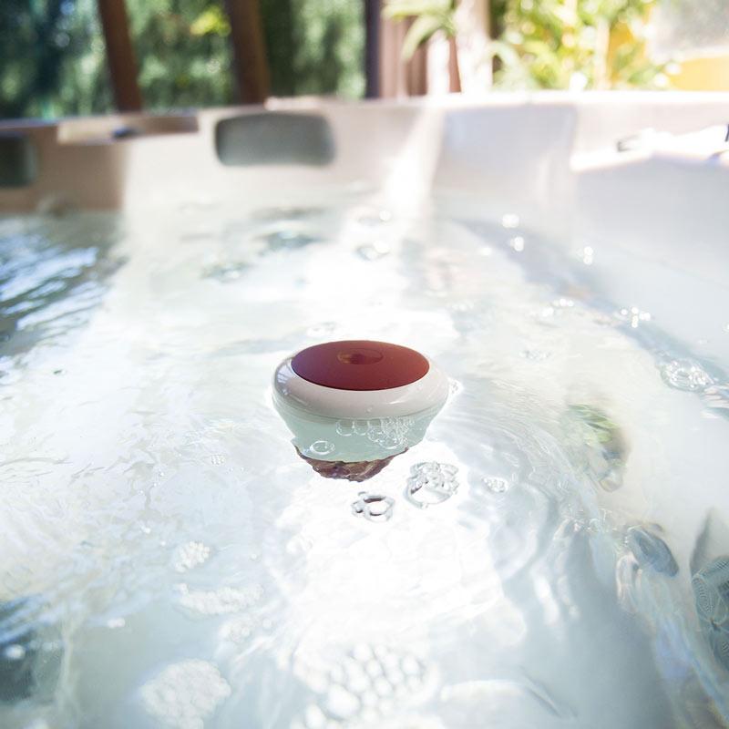 Termómetro Wi-Fi y análisis de agua ICO Spa (para hidromasaje, spa, bañera) – mide el pH, la temperatura del agua, el cloro, la salinidad